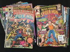 Spider-Man Vintage 1977 Comics Plus - 23 Pieces Comic Books Set in Books, Magazines, Comic Books | eBay!