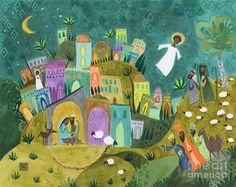 Nativity Three Painting
