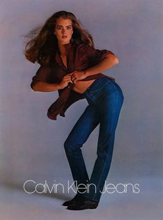 Brooke Shields for Calvin Klein, photographed by Richard Avedon, 1980