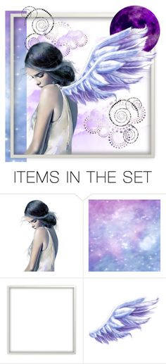 """""""Dreaming of Purple"""" by angelarmoyer ❤ liked on Polyvore featuring art"""