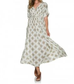 Free People Noyal Printed Maxi Dress