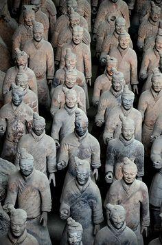 Terracota Army, Xian, China
