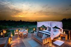 Lion Sands Ivory Lodge in Kruger National Park is a fantastic place for wildlife viewing and game drives. Book your stay at a luxury safari lodge in South Africa with Ker & Downey. Hotels And Resorts, Best Hotels, Luxury Hotels, Amazing Hotels, Game Reserve South Africa, Sand Game, Unusual Hotels, Treehouse Hotel, River Lodge