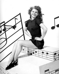 Rita Hayworth for Cover Girl (1944)