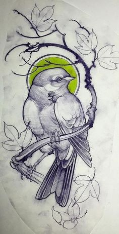 ideas tattoo designs traditional drawings for 2019 Tattoo Design Drawings, Bird Drawings, Flower Tattoo Designs, Tattoo Sketches, Flower Tattoos, Drawing Sketches, Small Tattoos, Drawing Birds, Pencil Drawings