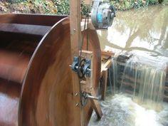 How to build a waterwheel generator