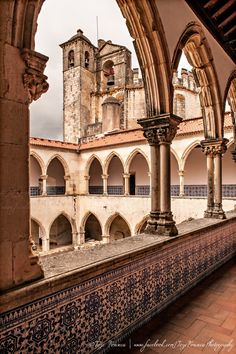 Convento de Cristo, Tomar, Portugal. Formerly Templars renamed Knights of Christ.