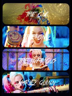 The One!The Only!The Infamous! HARLEY QUINN!!!