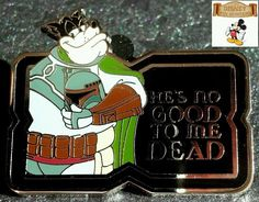 DLR #DisneyPin #StarWars Mystery Pin Collection Characters Quotes Pete as #Boba Fett