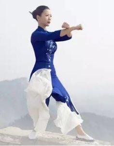 Tai chi chuan posture, China