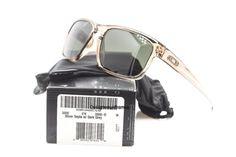 OAKLEY OO9262-02 Silver Sepia With Dark Gray Polarized Sunglasses NWC AUTH  #Oakley