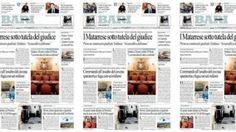 I titoli del giorno nell'edizione in edicola  e in digitale con          Repubblica +