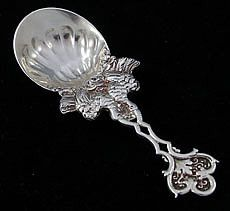 Tiffany Antique Sterling Tea Caddy Spoon