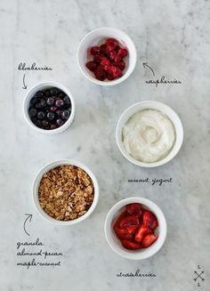 What about this for #breakfast? Fruits and coconut yogurt!