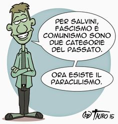 #satira #salvini #IoSeguoItalianComics