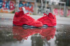 """Air Jordan 5 """"University Red"""""""