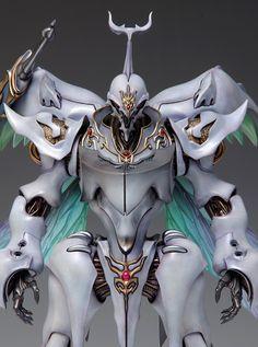 サーバイン【カラー成型】 / 【ベージュ色成型】 | 株式会社ウェーブ Character Concept, Character Design, Art Model, Gundam, Cyberpunk, Knight, Sculptures, Animation, Fantasy