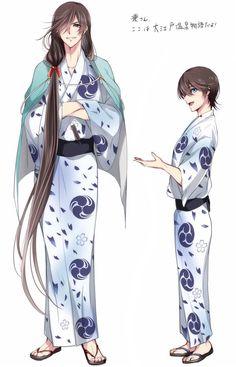 Izumi no Kami Kanesada & Horikawa - Touken Ranbu