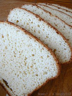 MIH Recipe Blog: Gluten Free Sandwich Bread & Gluten-Free All Purpose Flour Mix