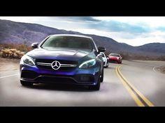 Mercedes c63 amg S против Audi R8 V10 и Ferrari California Кайфы - разны...