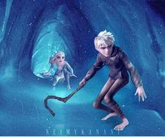 Jack Frost Movie, Jack Frost Und Elsa, Jack And Elsa, Jelsa, Disney Princess Babies, Disney Princess Drawings, Sailor Princess, Animal Wallpaper, Disney Wallpaper