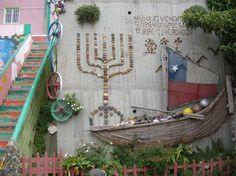 Murales de Valparaiso magico Puerto de Chile -