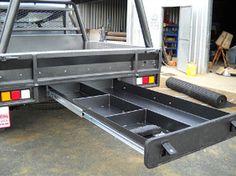62 New Ideas Utility Truck Bed Ideas Truck Bed Box, Truck Flatbeds, Pickup Trucks, Big Trucks, Pickup Camper, Shop Truck, Truck Camping, Camping Stuff, Ford Trucks