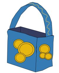 Akhlah: Hanukkah Craft - Hanukkah Gelt Bag