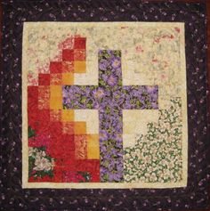 quilts with crosses on them | Ros-the-quilter: Watercolor Quilts