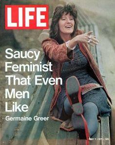 Life magazine, May 7, 1971 - Germaine Greer