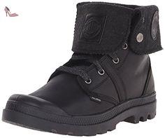 Palladium , Baskets pour homme noir Black/Metal - noir - Black/Metal, 44 EU - Chaussures palladium (*Partner-Link)