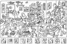 Juegos para imprimir de niños - Imagui