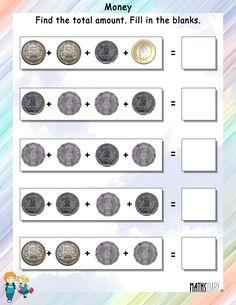 Grade Money Worksheets To Printable To. Grade Money Worksheets - Grade Math Worksheet For Kids - Math Worksheet for Kids First Grade Math Worksheets, Money Worksheets, Printable Math Worksheets, Kindergarten Worksheets, Worksheets For Kids, Matching Worksheets, Hindi Worksheets, Reading Worksheets, Kindergarten Reading