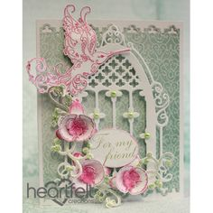 Heartfelt Creations - Delicate Pink Orchid Window Project