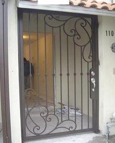 1000 images about hierro on pinterest mesas wrought - Puertas de metal para casas ...