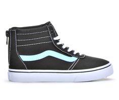 fa1d663ba6 Girls  Vans Little Kid   Big Kid Maddie Hi Zip High Top Skate Shoes