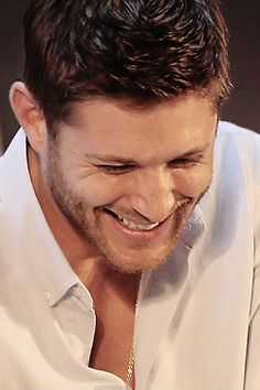 when jensen ackles smiles the sun shines
