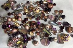 Glass beads bead lots mixed bead lots mixed by RosariesbyEsther