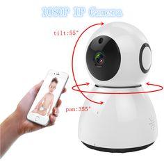 2MP Wireless IP Camera 1080p WiFi Infrared Pan Tilt Home Security Wifi Camera ip Camera Night Vision Surveillance Camera  EUR 20.42  Meer informatie  http://ift.tt/2AnIzUE #aliexpress