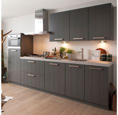 Superkeukens Keuken Klee (lak basalt)