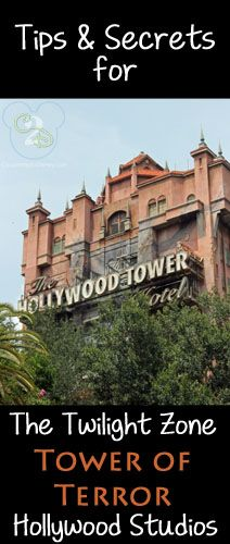 Tower of Terror is my FAVORITE ride at Disney World, right beside Expedition Everest.