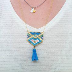 """233 Likes, 3 Comments - Lili (@lili_azalee) on Instagram: """"Tester les cadeaux....😁 . Le joli collier de @fifijolipois pour offrir 😍...…"""""""