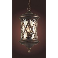 Westmore Lighting�24-in Hazelnut Bronze Outdoor Pendant Light