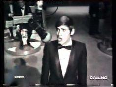 ♫ Gianni Morandi ♪ Scende La Pioggia Canzonissima 1968 ♫ Video & Audio Restaurati