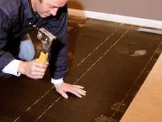 How to Install Prefinished Solid-Hardwood Flooring : How-To : DIY Network
