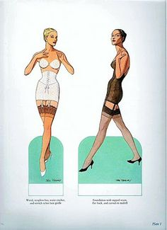 tom tierney great fashion designs of the fifties   gabi's paper dolls