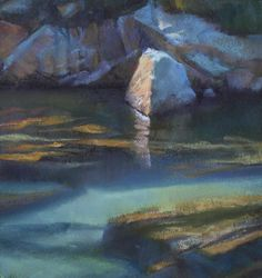 Pastel painting, Bill Cone