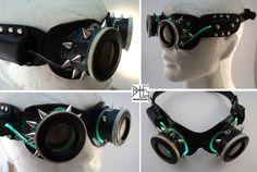 Cyberpunk Goggles by barlogg