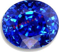Gemlab the Real Gemstones #Blue sapphire http://gemlab.co.in