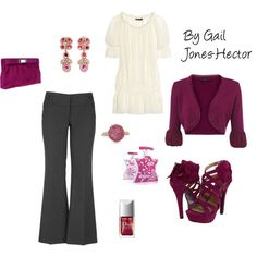 By Gail Jones-Hector, created by sageflower.polyvore.com